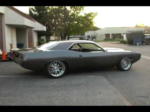 Twisted Fish Moves On It S Own Power 70 Cuda Youtube