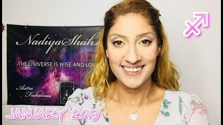♐ Sagittarius January 2019 - Astrology Horoscope by Nadiya Shah