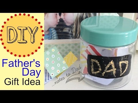 Gifts for dad by michele baratta youtube for Last minute diy birthday gifts for dad