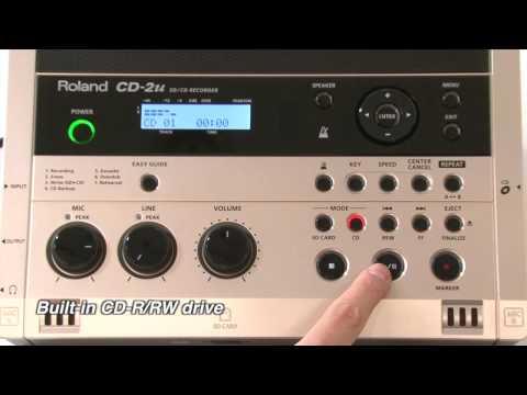 Roland CD-2u/SD-2u Applications