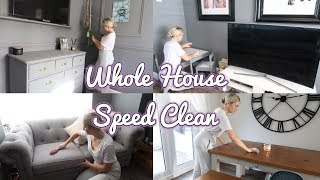 WHOLE HOUSE SPEED CLEAN | CLEANING MOTIVATION | ELLIE POLLY