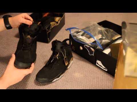 Authentic vs fake comparison: DMP Jordan VI 6 Retro
