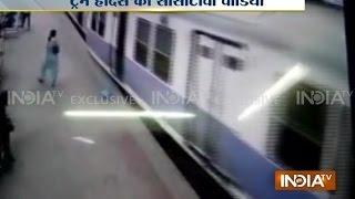 Exclusive CCTV Footage: Mumbai Local Train Crashes into Platform at Churchgate Station | India Tv