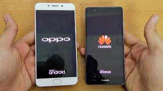 Huawei P9 vs Oppo F1 Plus - Speed Test! (4K)