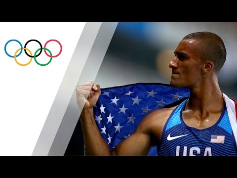 Ashton Eaton equals Decathlon Olympic Record