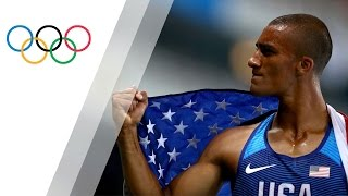 Ashton Eaton equals Decathlon Olympic Record