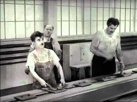 Charlie Chaplin - Les Temps Modernes - 1936 video