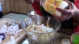DELICIOUS POTATO SALAD! CAN'T STOP EATING 'EM!