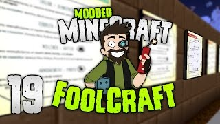 Minecraft: FOOLCRAFT | #19: THE CITY GUIDE! 💰[Modded Minecraft]