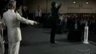God Didn't Allow Benny Hinn Laying Hands on People