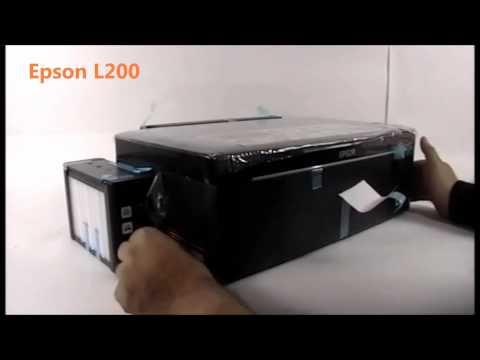 EPSON L200 Impresora con tanques de tinta contínua