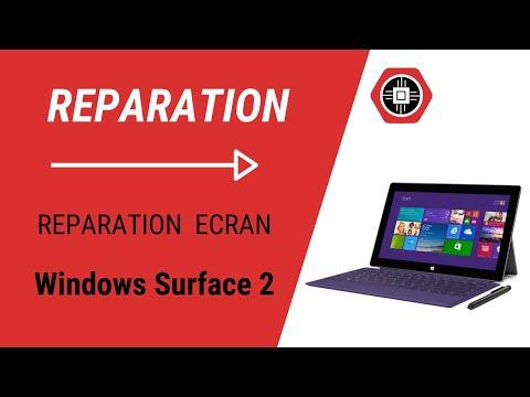 Windows Surface 2 Réparation de l'écran
