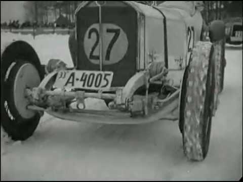 GRAND PRIX RÄMENLOPPET 1933 ! ( GRAND PRIX MOTOR RACING SWEDEN WINTER 1933 )