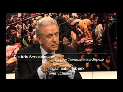Interview Dimitris Avramopoulos - European Commissioner for Migration