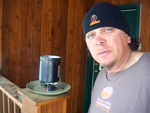 Alcohol Stove.. Testing my homemade BB gun tin alcohol stove