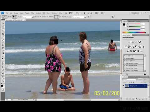 How to Remove People with Photoshop