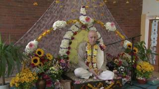 2011.10.22. Vyasa Puja part 3 Offerings HG Sankarshan Das Adhikari - Kaunas, Lithuania