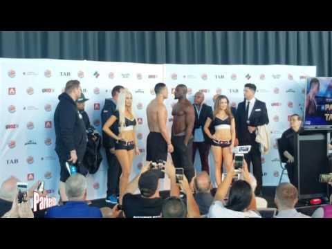 Joseph Parker vs Carlos Takam Weigh In
