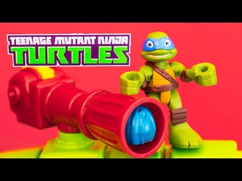Teenage Mutant Ninja Turtles Nickelodeon Tmnt Leo Shell Raiser Van A Tmnt Video Toy Review video