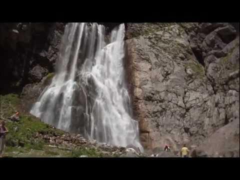 Водопад абхазия гегский водопад