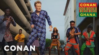 Conan Makes A Music Video With Kuami Eugene - CONAN on TBS