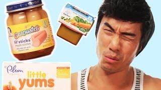 Adults Taste Baby Food