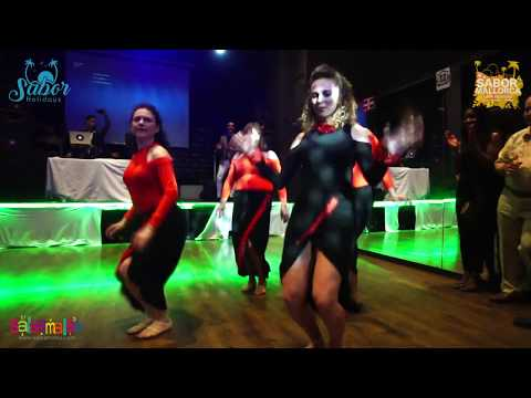 Jayne & Gary Choreography Group Show   Sabor Mallorca Latin Weekend