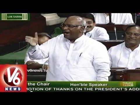 Mallikarjun Kharge Force Full Debut in Lok Sabha Stirs Up Congress