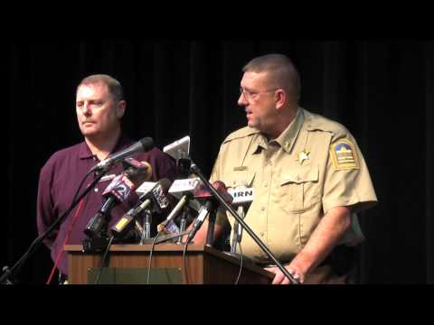 Gee Family Murder Press Conference
