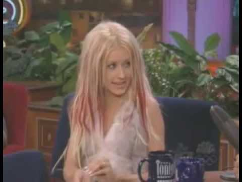 Christina Aguilera Interview & I Turn To You Live At Jay Leno 2000