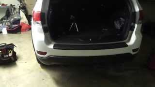 2014 Jeep Grand Cherokee OEM Hitch/Receiver Install