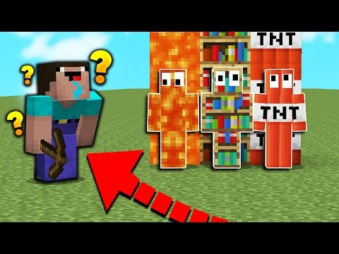 MINECRAFT NOOB PLAYS HIDE N' SEEK! - Minecraft Mods