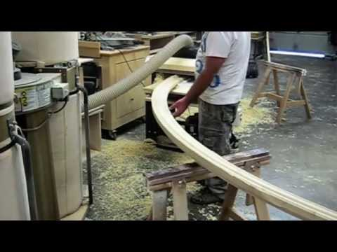 Making Arched Window Casing. Molding -- Palo Arte Woodworks