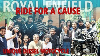 Royal Enfield Ride for a Cause | A Unique Diesel Bullet and Tree Plantation on WMD 2019