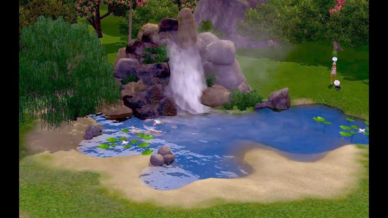 Как сделать водопад в симс 3