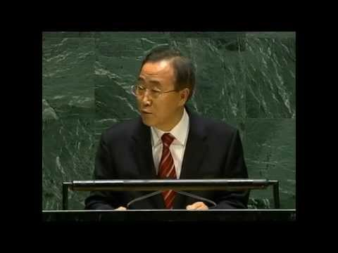 Ban Ki-moon, Secretary-General-designate addresses General Assembly