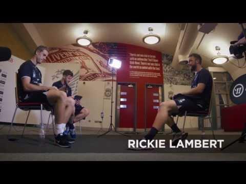 Warrior LFC Twitter Q&A with Lambert, Lallana, Henderson
