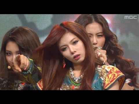 4Minute - Volume up 포미닛 - 볼륨 업 Music Core 20120512...