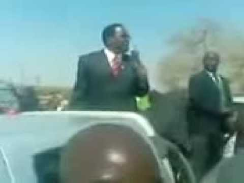 MCP President Lazarus Chakwera gets fired up on the road to Malawi 2014 elections