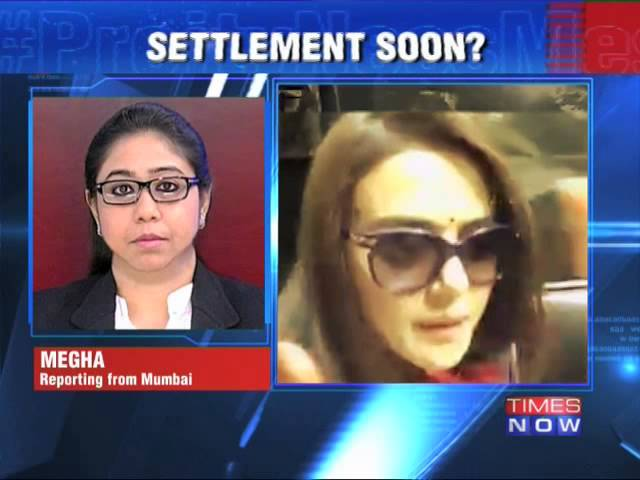 Preity Zinta advised to make 'honourable exit'
