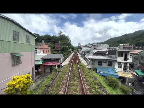 台遊-台灣鐵道影像-EP 0031平溪線 深澳線 4817次 菁桐 - 八斗子 路程景