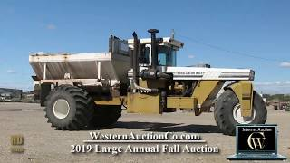 Terra Gator 1803 with Chandler Fertilizer Spreader Box