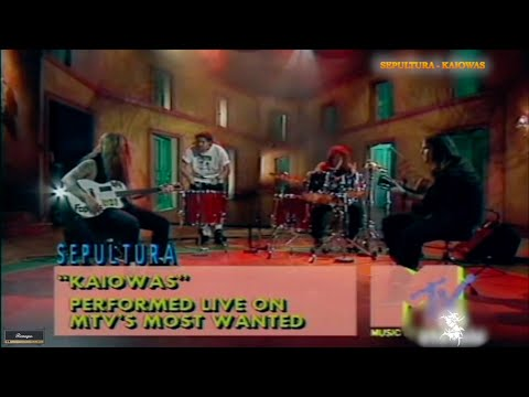Sepultura Kaiowas live on MTV's most wanted