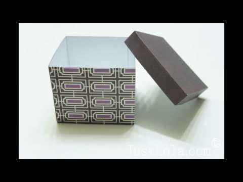 Gift box tutorial & free PDF pattern
