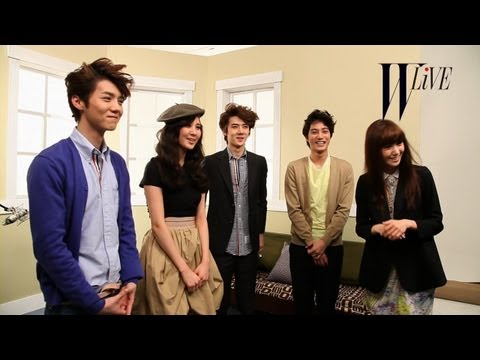 [W Live 2 S.M. Fashionistas] Clip 6_YOONA & SEO HYUN & KAI & LU HAN & SE HUN