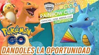 ¡KINGDRA, CHARIZARD y RAICHU en la RAINBOW CUP!-Pokémon Go PvP