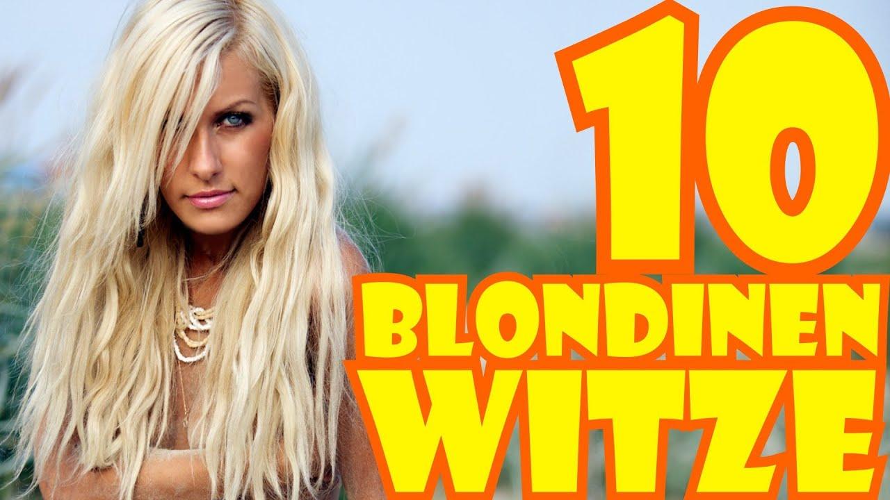 10 BLONDINEN WITZE - Muhaha! - YouTube