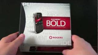 Blackberry Bold 9900 Unboxing! (Bold Touch)