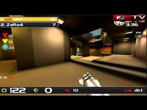 Insane Quake Live match: ZeRo4 vs. dkt