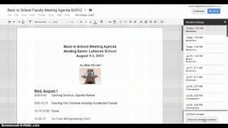 ASLS Google Docs Tutorial